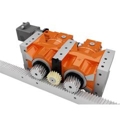 DRP、KRP型 ゼロバックラッシュ減速機