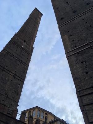 ボローニャのツインタワー