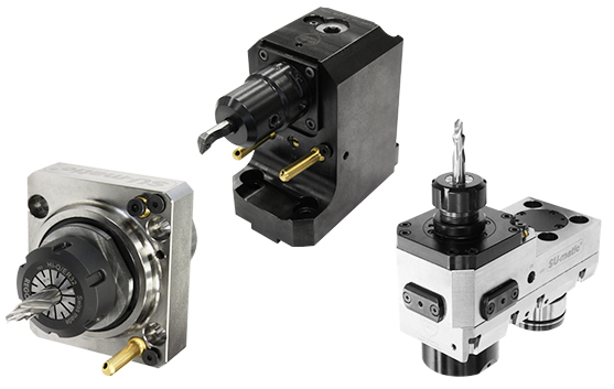 CNC旋盤用回転工具・静止工具