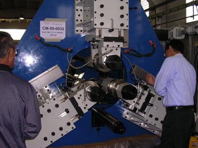 ORT社 3ローラー転造盤