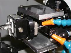 カルティエ社指輪 内径加工 SU-matic社アングルヘッド