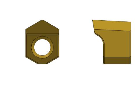ブローチングツール(六角穴)-UT-HEX&IN-HEX